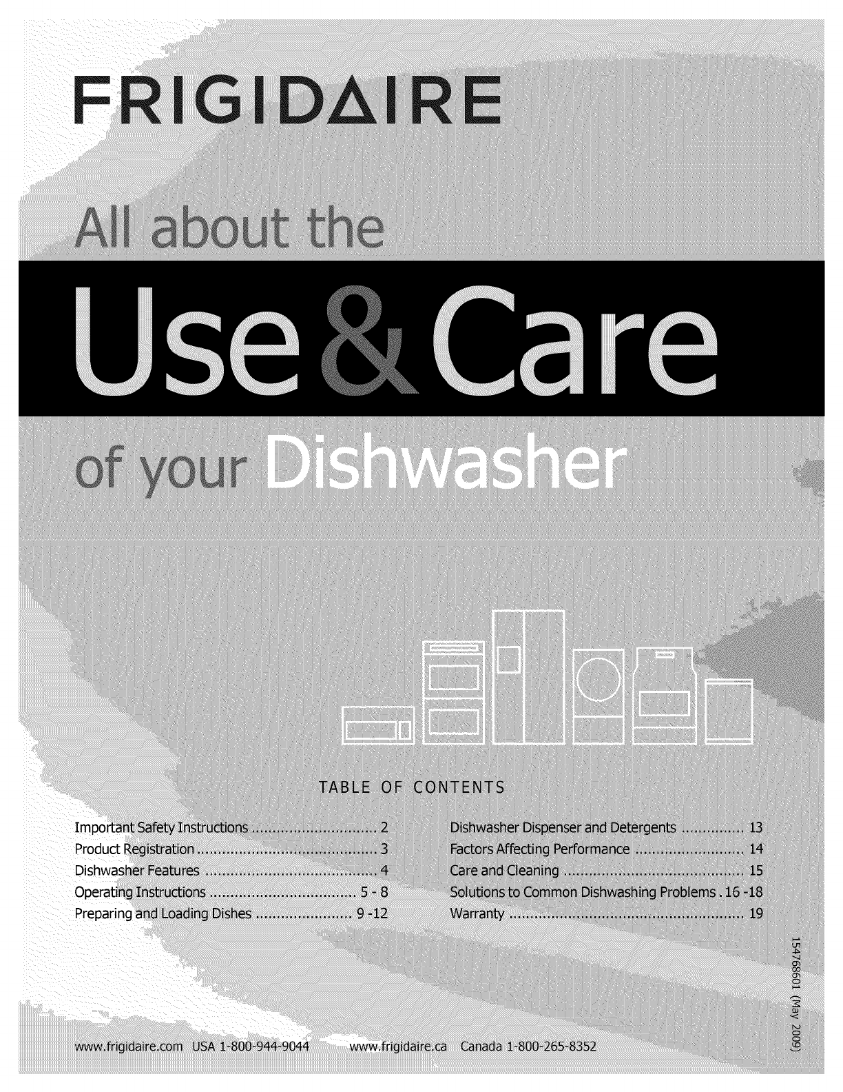 Frigidaire Dgbd2432kb1 User Manual Dishwasher Manuals And Guides