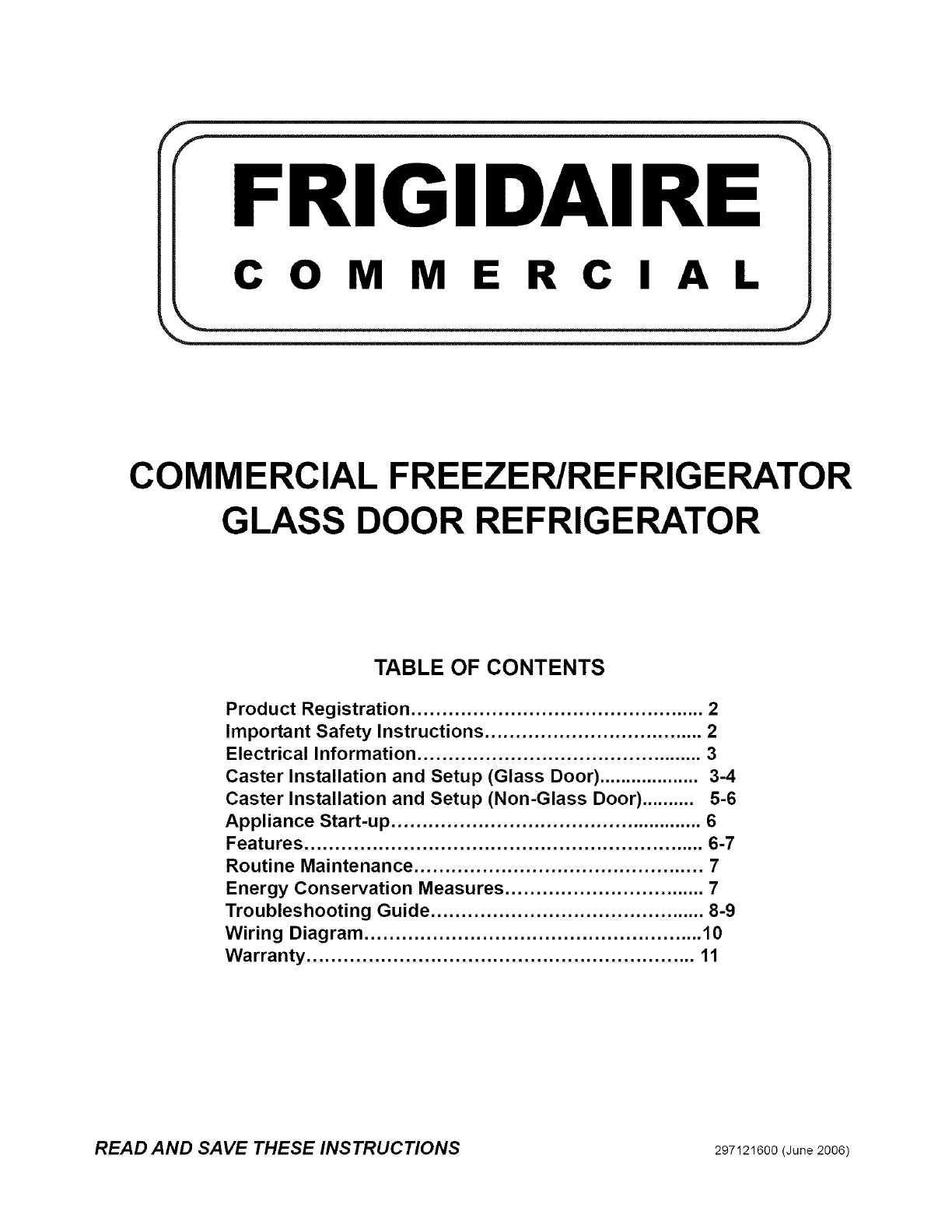 Frigidaire Fcfs201lfb3 User Manual Freezer Manuals And Guides L0609487 Commercial Evaporator Wiring Diagram