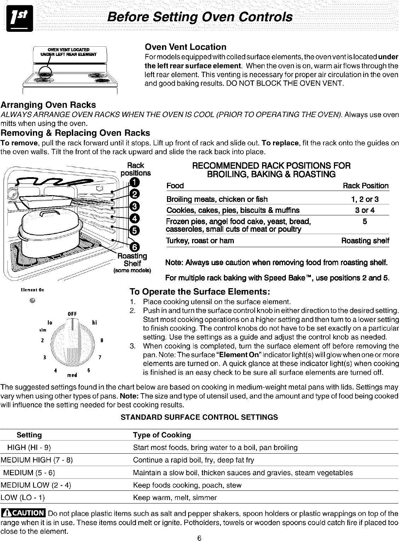 Frigidaire FEF352AWA User Manual ELECTRIC RANGE Manuals And