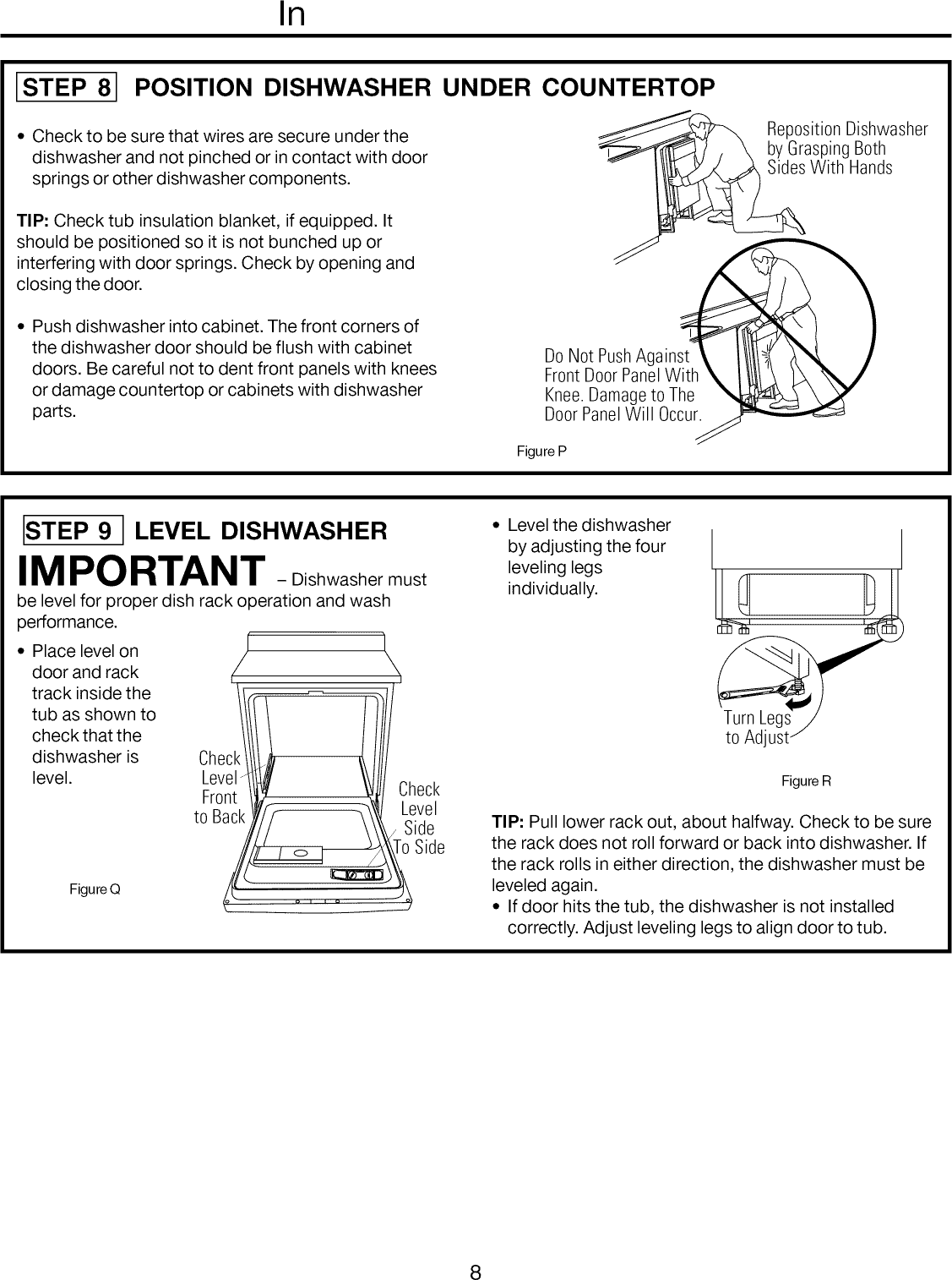 Frigidaire Ffbd1821ms1b User Manual Dishwasher Manuals And Guides Schematic Diagram Page 8 Of 12 1108343l