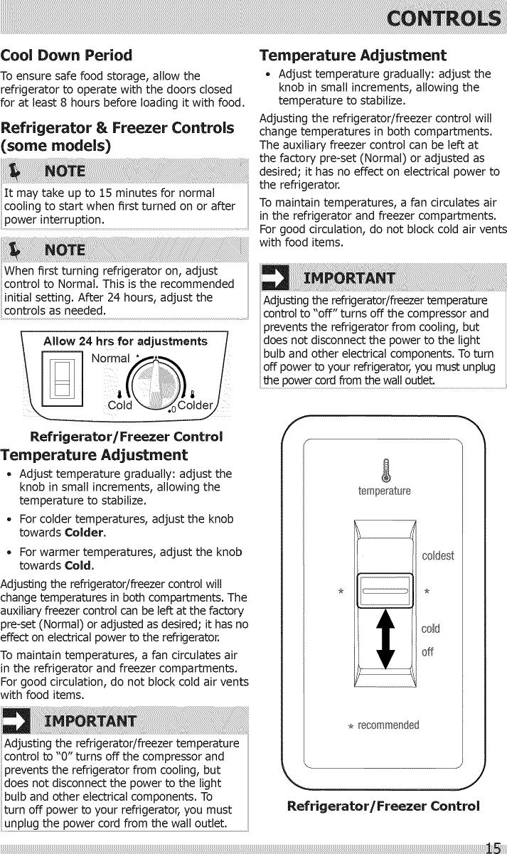 Frigidaire FFHI1831QP2 User Manual REFRIGERATOR Manuals And