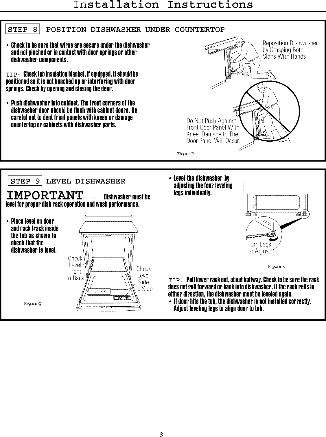 Frigidaire Fmb330rgs0 User Manual Dishwasher Manuals And Guides L0709007 Schematic Diagram Page 8 Of 12
