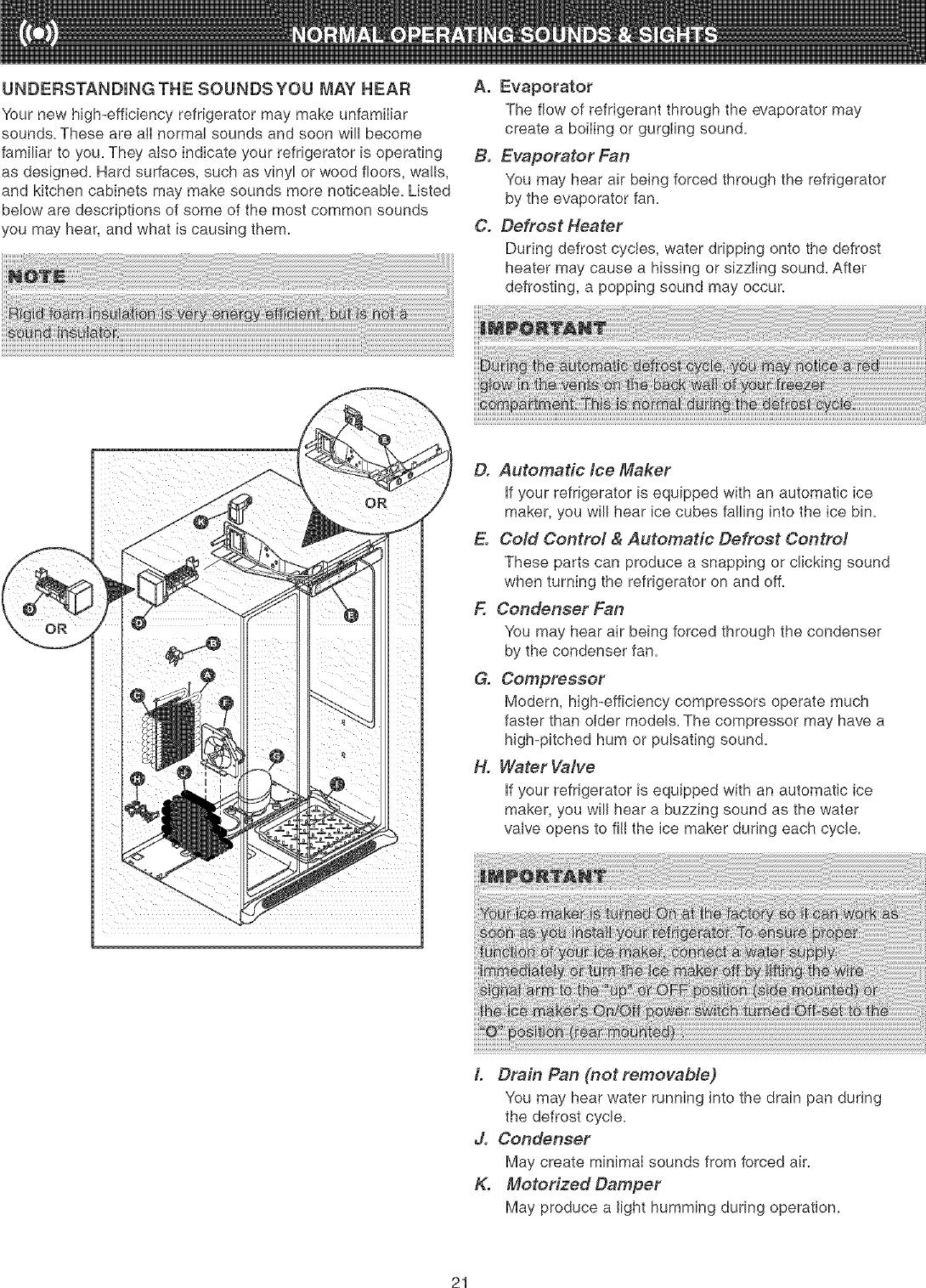 Frigidaire FSC23F7HB4 User Manual REFRIGERATOR Manuals And
