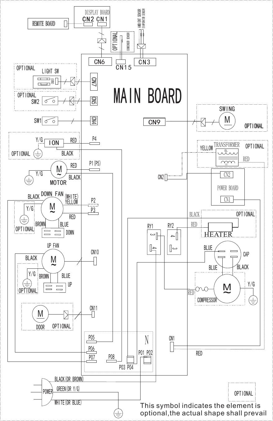 Frigidaire Ffpa1222r1 Wiring Diagram Eu Kcd35y1n1 Pdb6d06mp 1 Schematics