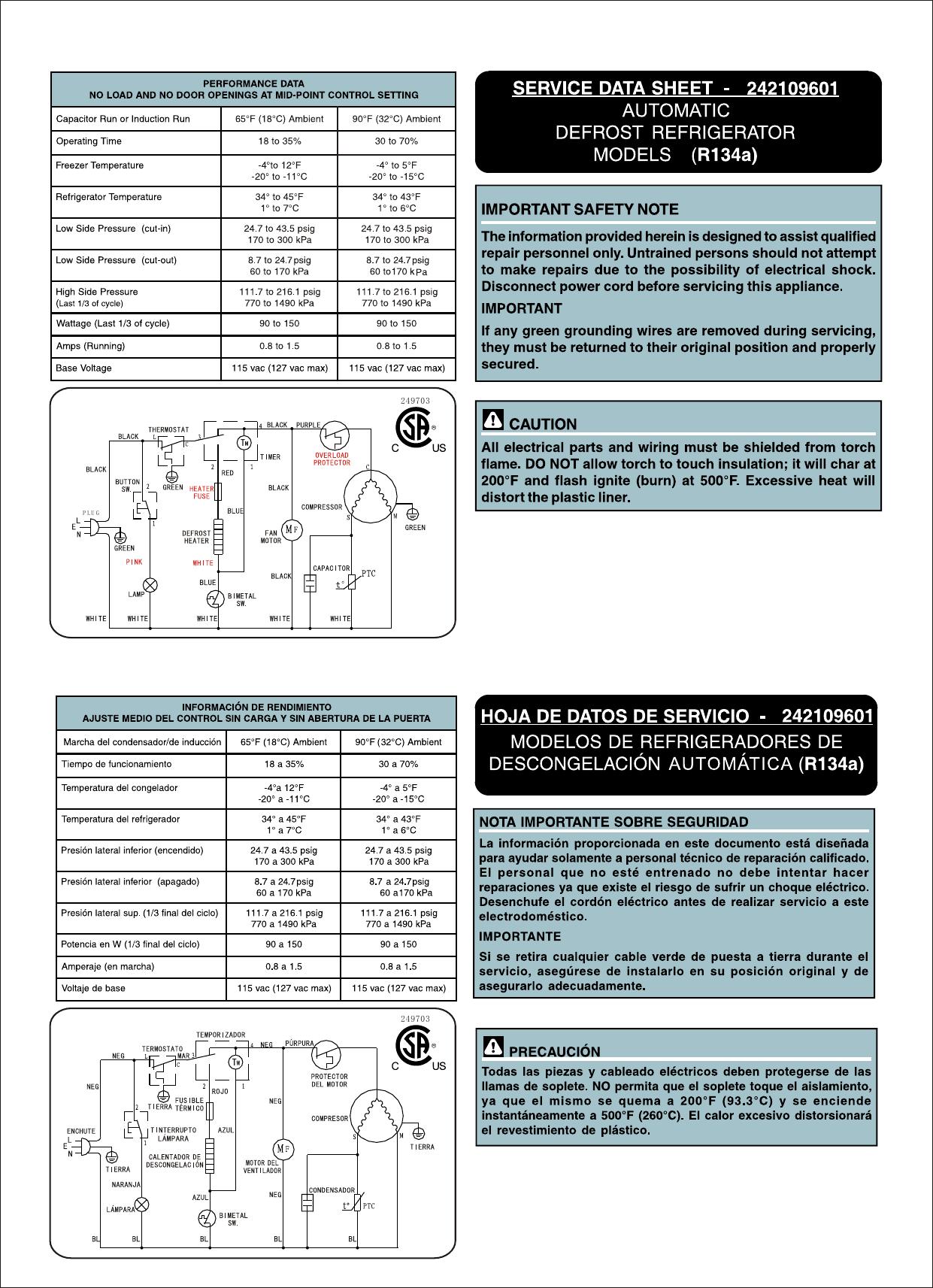 Frigidaire Ffps4533qm Wiring Diagram Lfph45f4lm 4 Wire