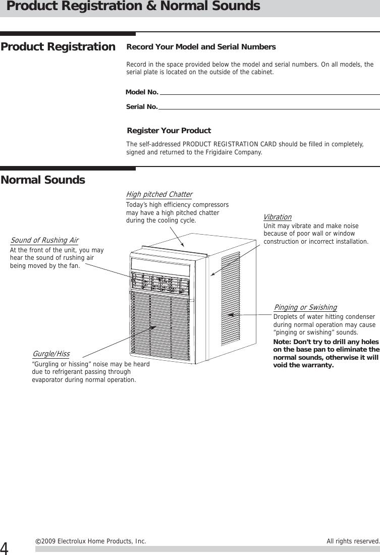 Frigidaire Ffrs0833Q1 Owners Manual 封面