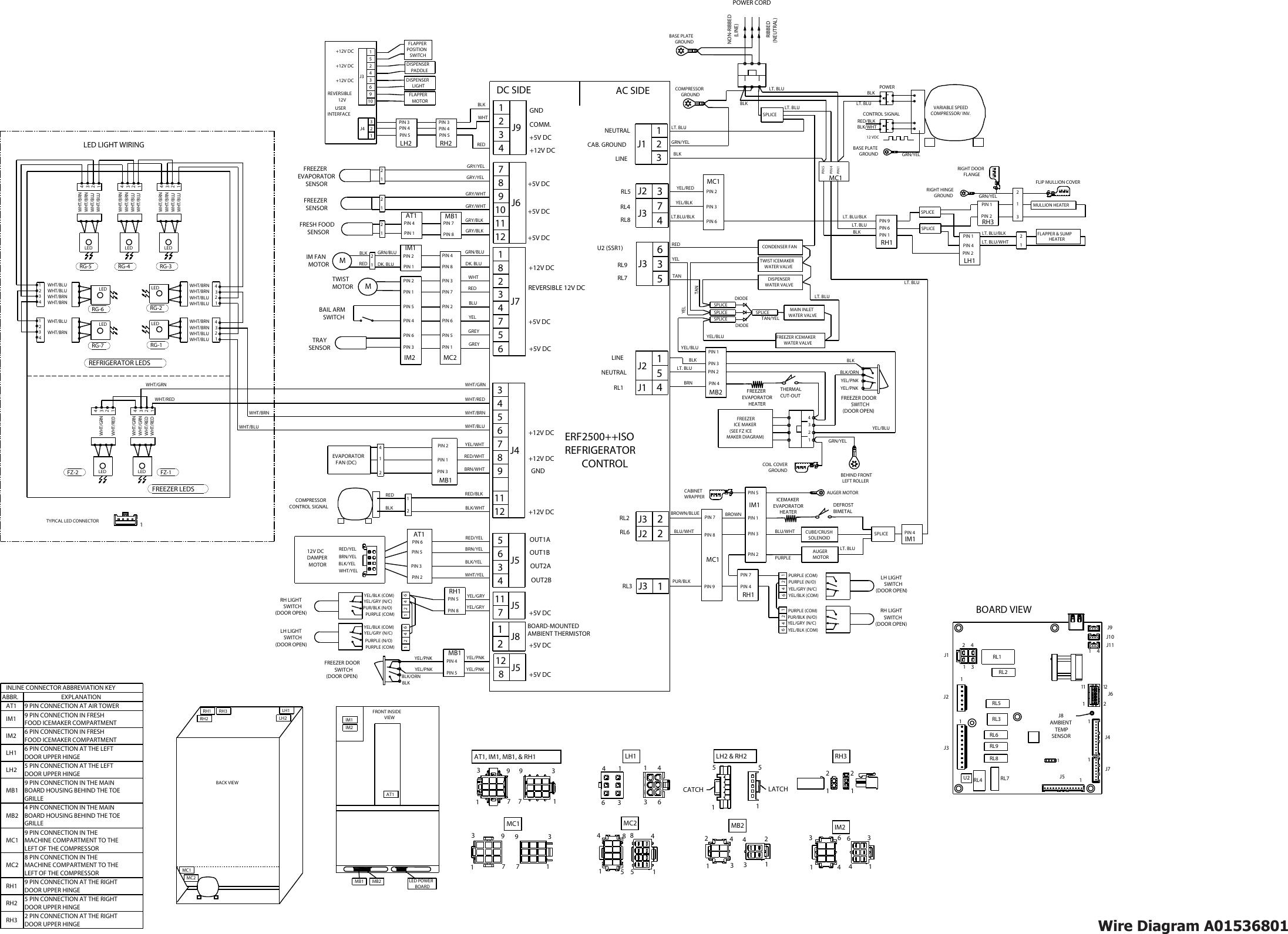 Frigidaire Fghb2866pe Wiring Diagram Schematics