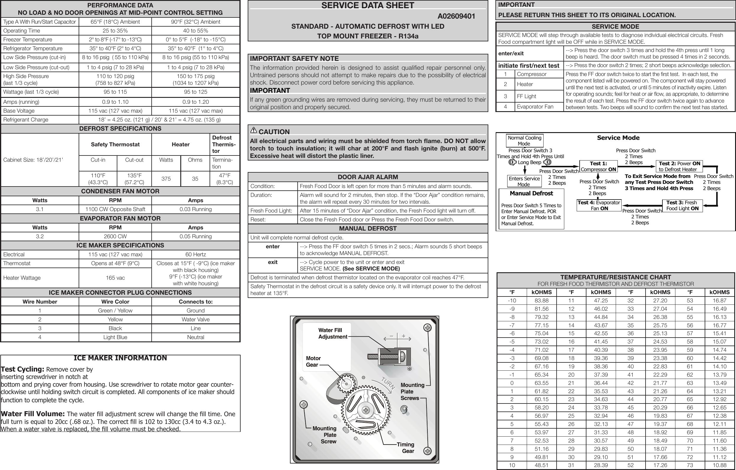 Frigidaire Fgtr1845Qe Wiring Diagram