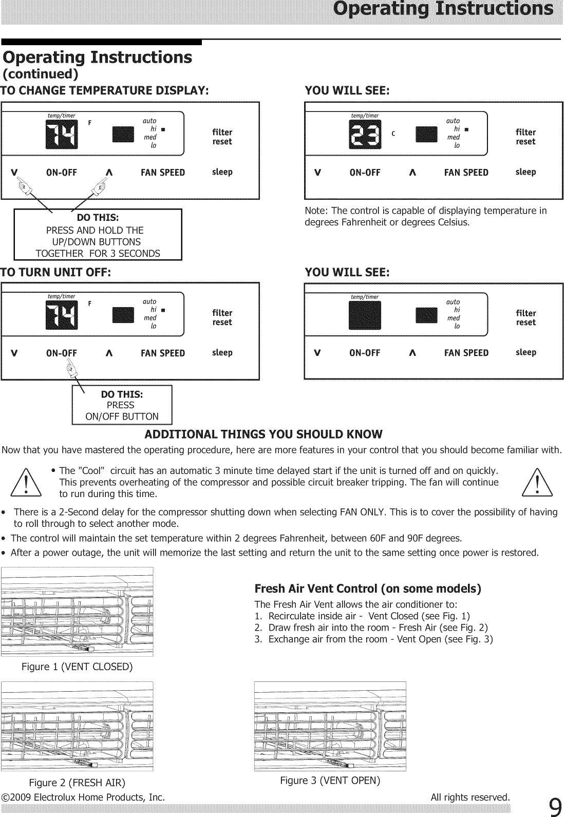 Frigidaire LRA087AT715 User Manual ROOM AIR CONDITIONER