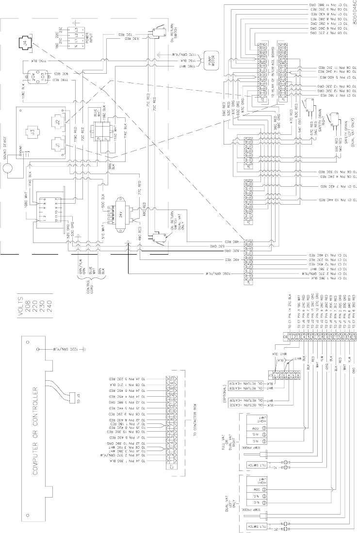 Frymaster Wiring Diagram Free Download Alto Shaam H14 Series Users Manual Operators Additionally 3 Way Switch Moreover