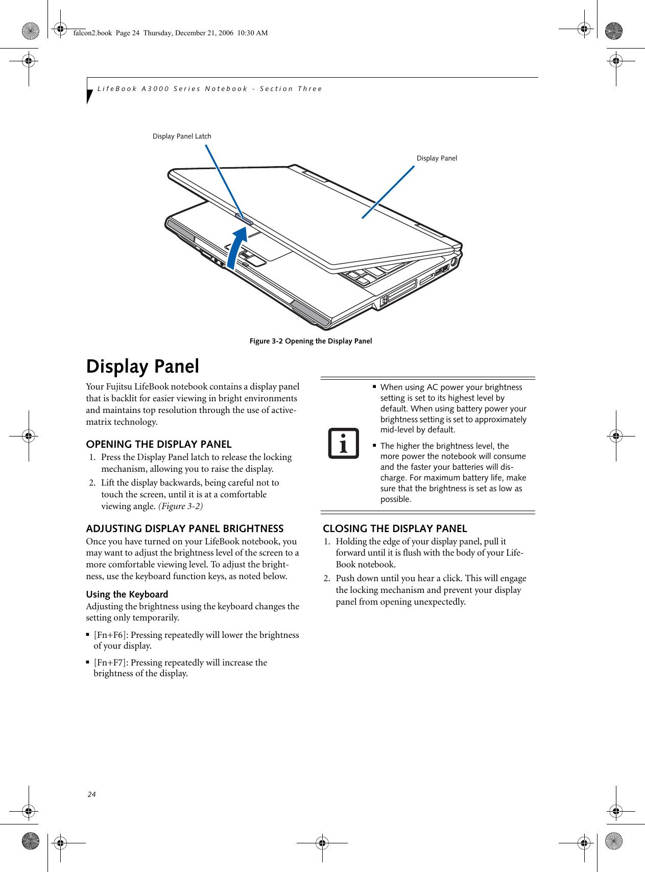 Fujitsu Siemens Computers Lifebook A3120 Users Manual Falcon2