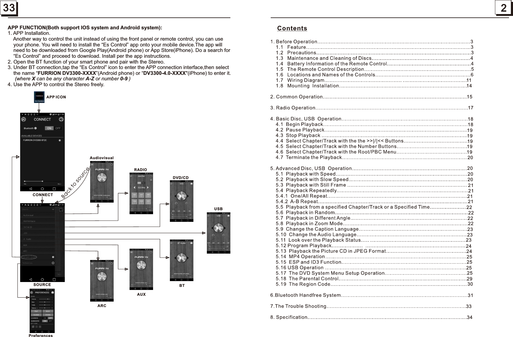 Furrion Dv3xxx Entertainment System User Manual Patient Wiring Diagram