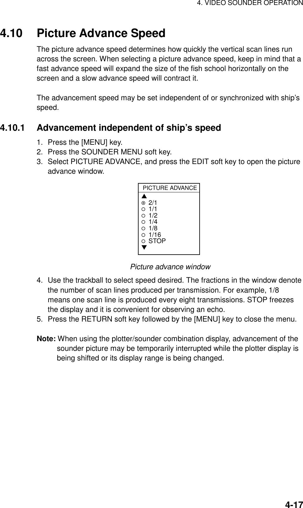 Furuno Color Video Plotter 1833C Users Manual