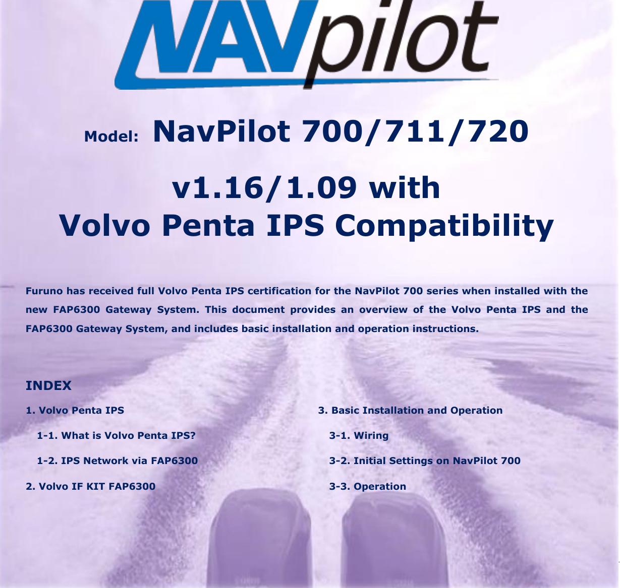 Furuno Navpilot 700 Users Manual NavNet 3D