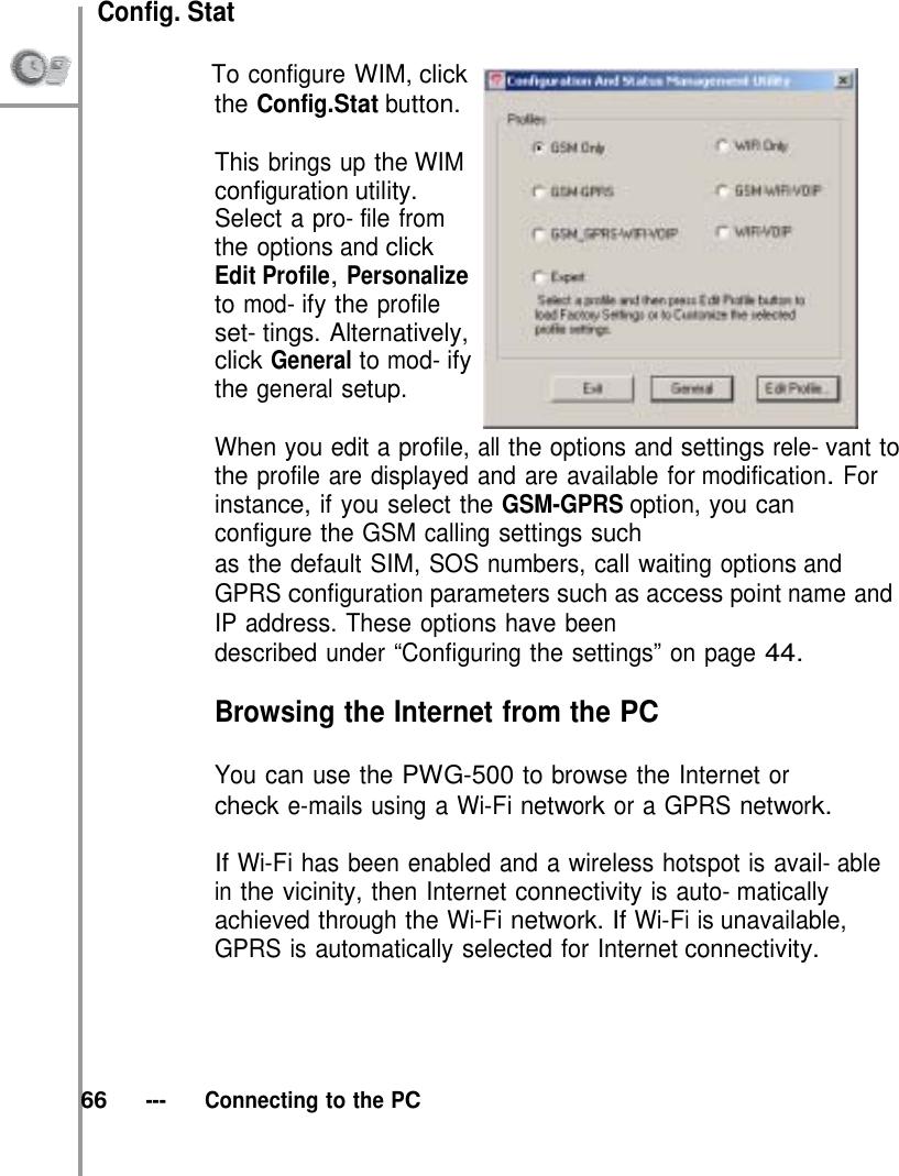 G Tek Electronics PWG Wireless IP Phone User Manual