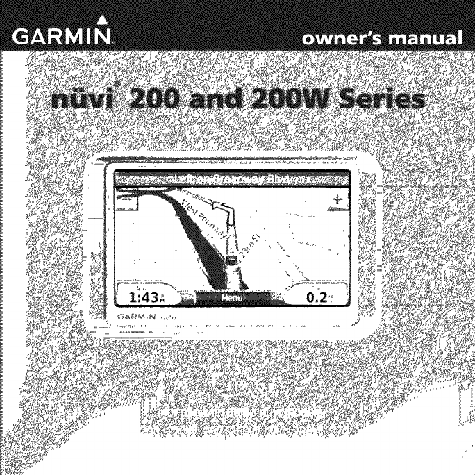 GARMIN GPS Computer Auto Manual L0906150