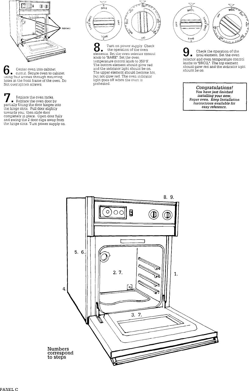 GE Convection Oven Unknown User Manual To The 32866e21 6bdb ... on