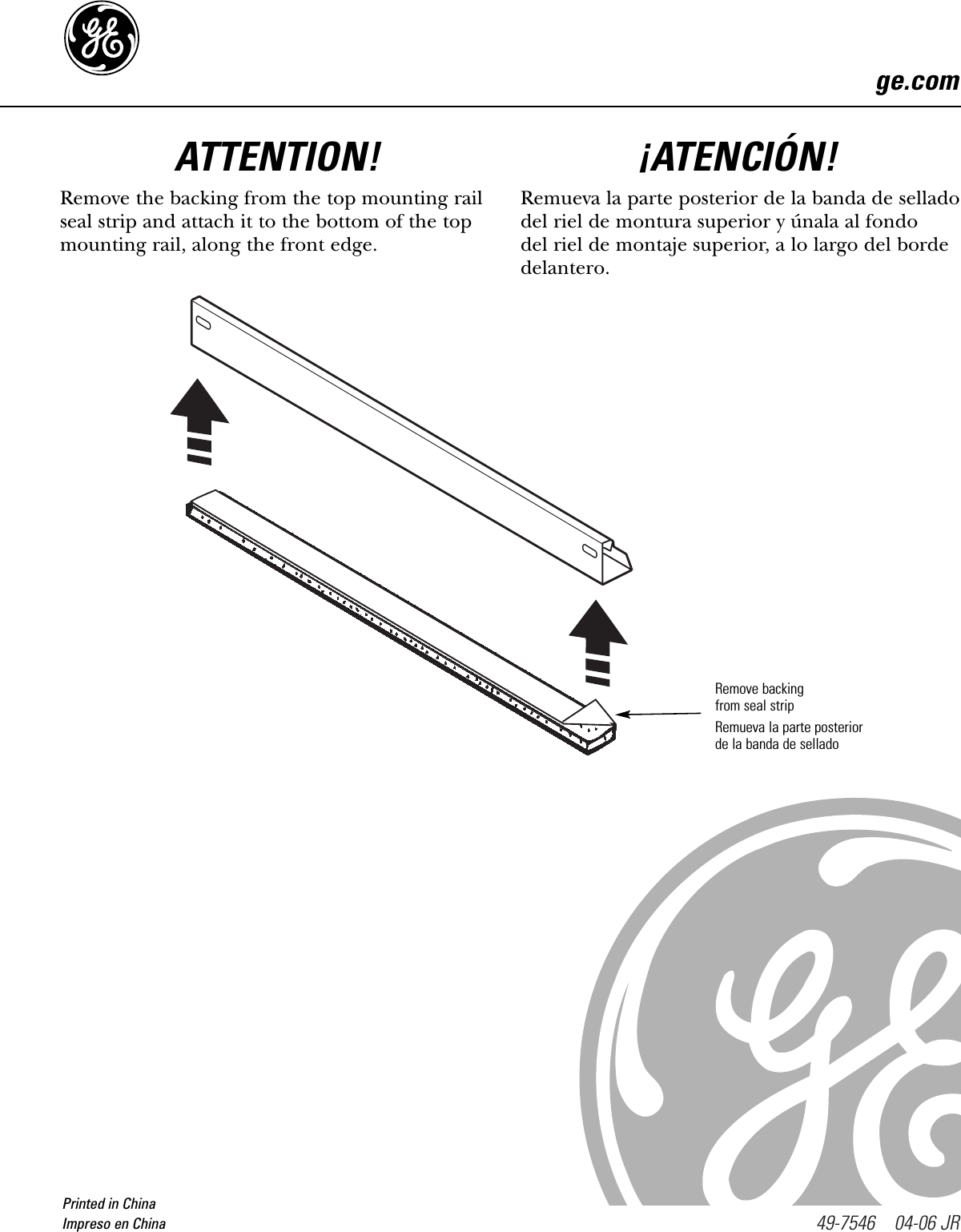 GE 49 7546 Installation Instructions Ge Aew Air Conditioner Wiring Diagram on