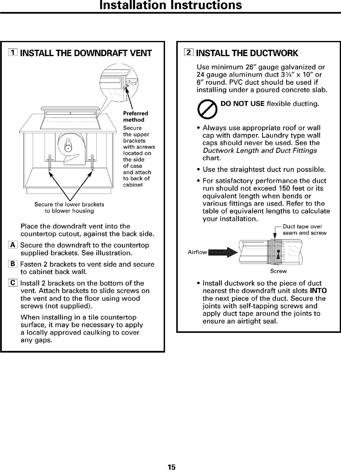 GE JVB37ABB User Manual RANGE HOOD Manuals And Guides L0306396