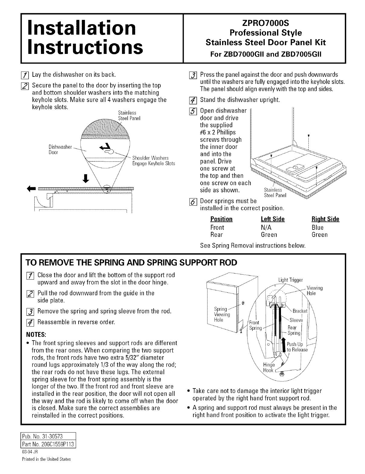 zenith zc500 manual