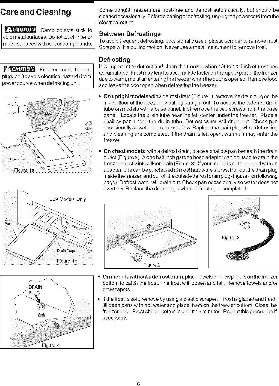 GIBSON Upright Freezer Manual L0607433