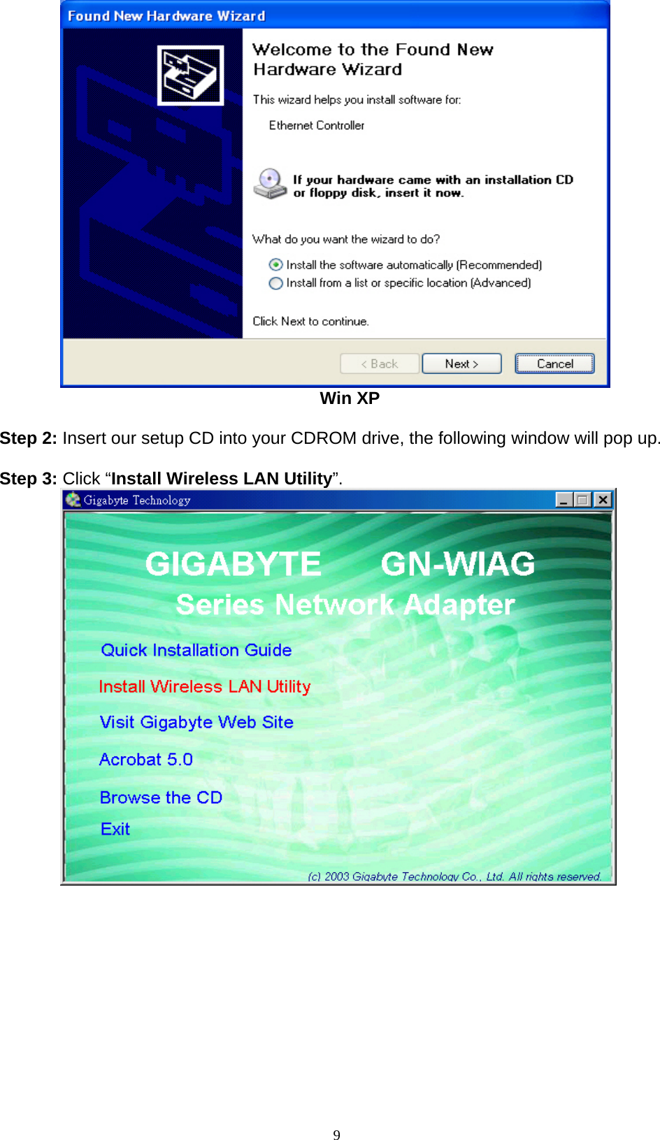 GIGABYTE GN-WIAG02 WINDOWS XP DRIVER DOWNLOAD