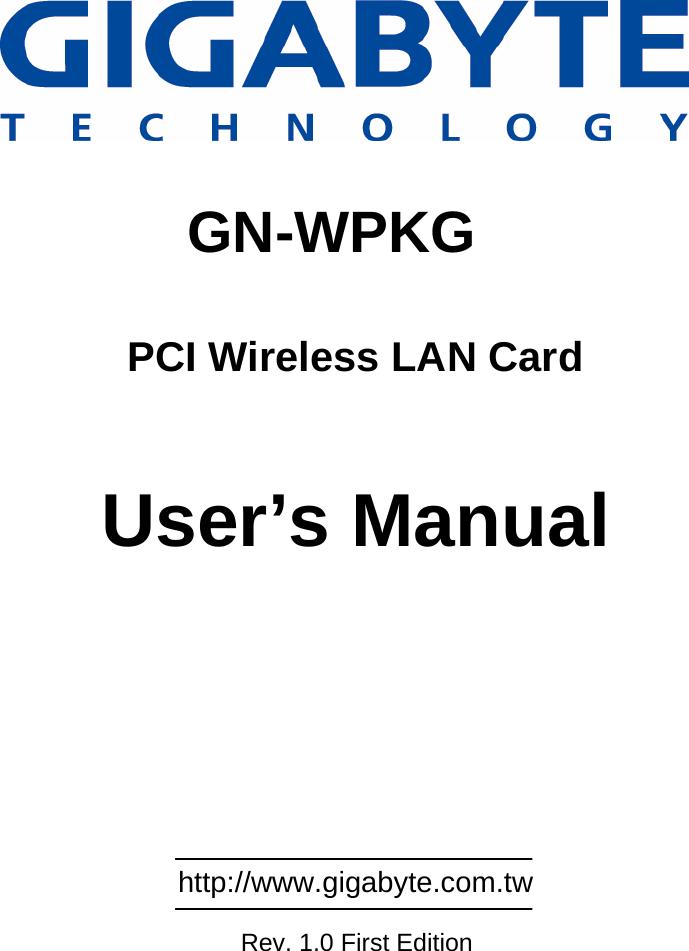 DRIVER UPDATE: GIGABYTE WPKG PCI