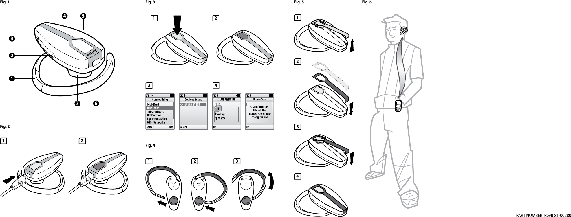 GN Netcom BT135 Jabra BT135 Bluetooth Headset User Manual