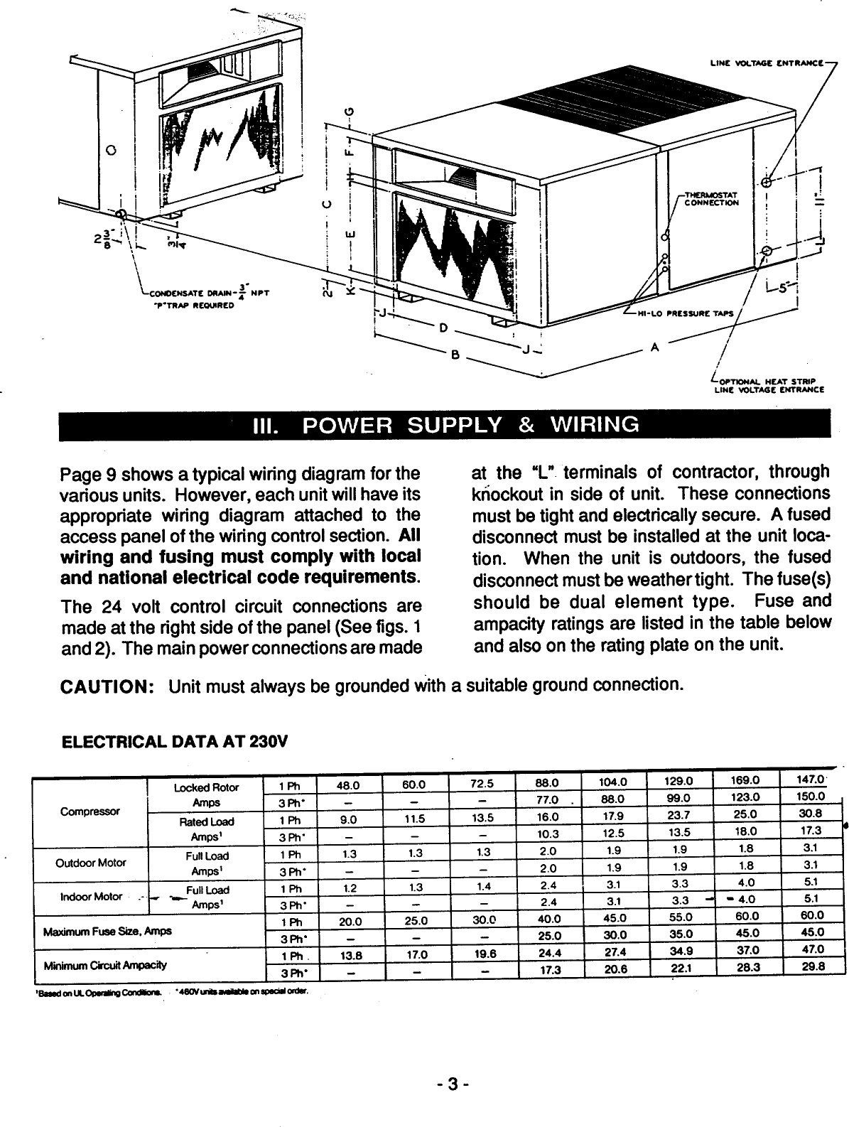 Goettl air conditioning model numbers wiring diagrams