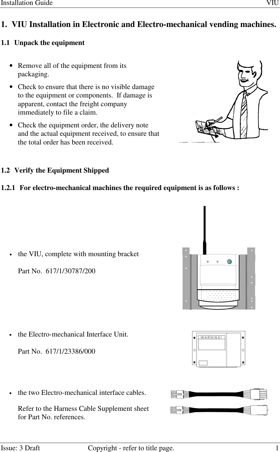 Gpt 001gpt Vending Machine Interface Transceiver User Manual Wiring Diagram Installation Guide Viuissue 3 Draft Copyright Refer To Title Page 11 Viu