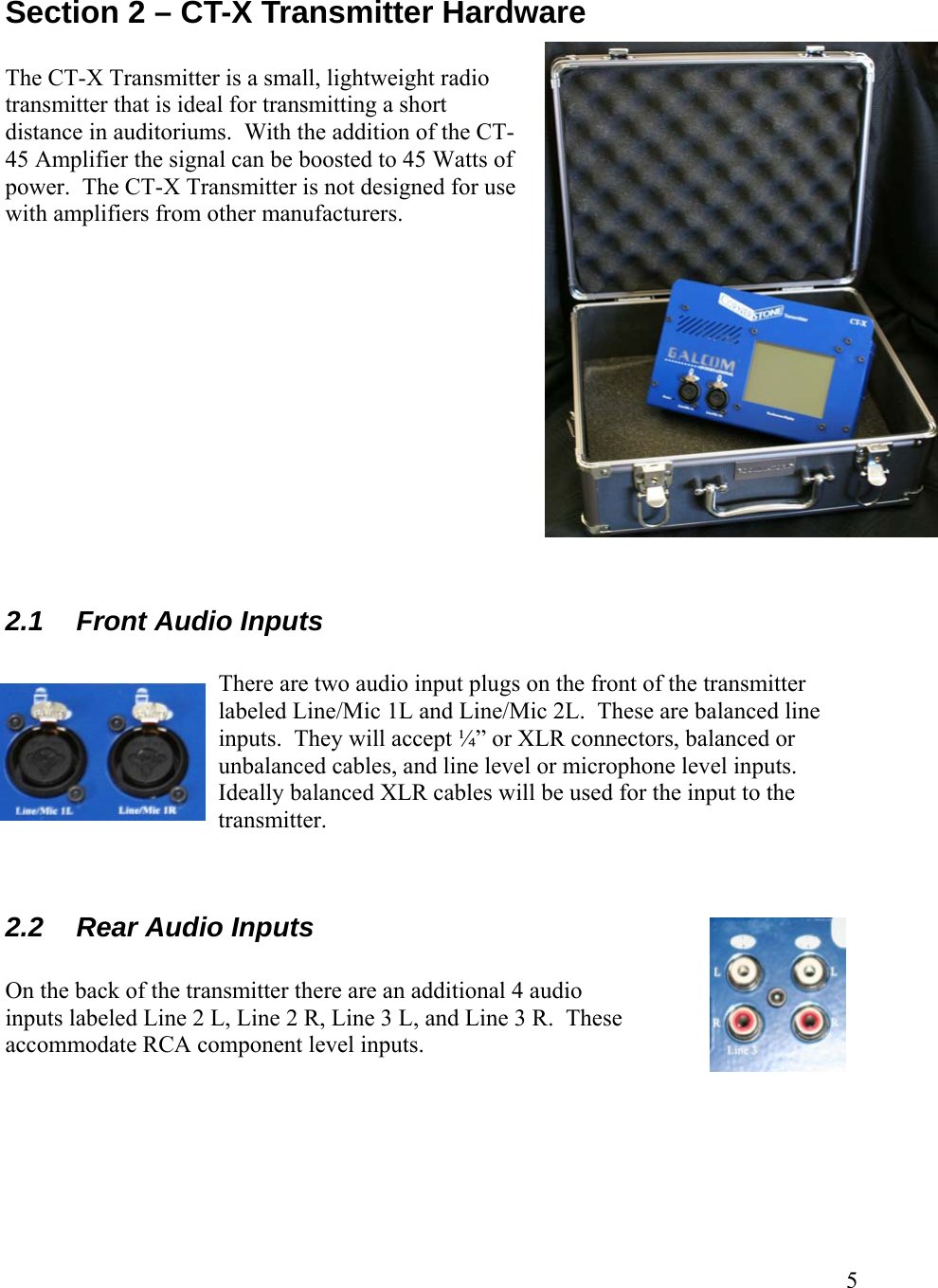 Galcom Ct 45 Watt Fm Broadcast Transmitter User Manual 5 Amplifier Section 2 X Hardware The Is A