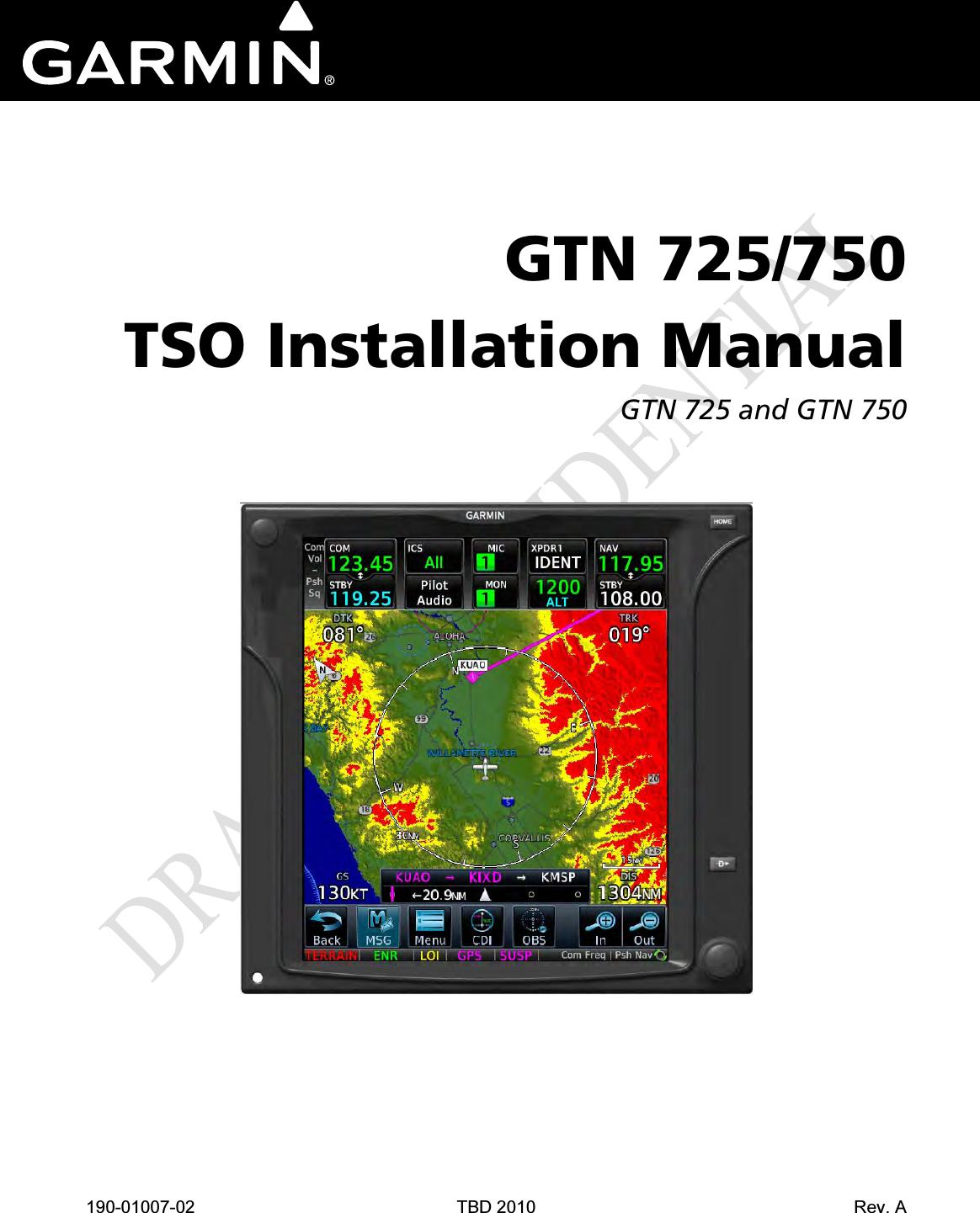 garmin 01594 airborne communications transceiver user manual 190 rh usermanual wiki garmin gps 750 user manual Garmin 750 Aviation