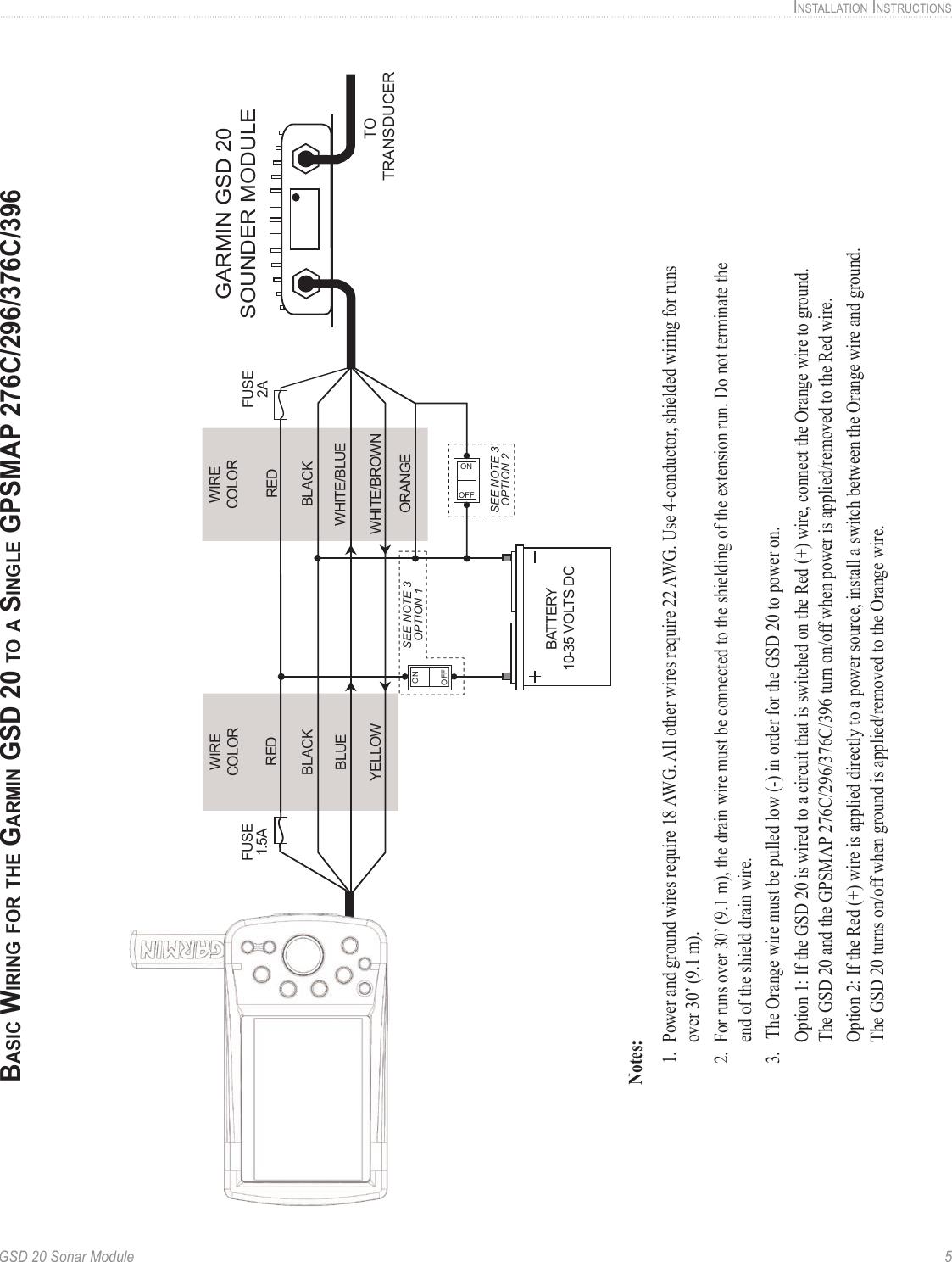 Garmin Gsd 20 Wiring Diagram - Wiring Diagrams Show on