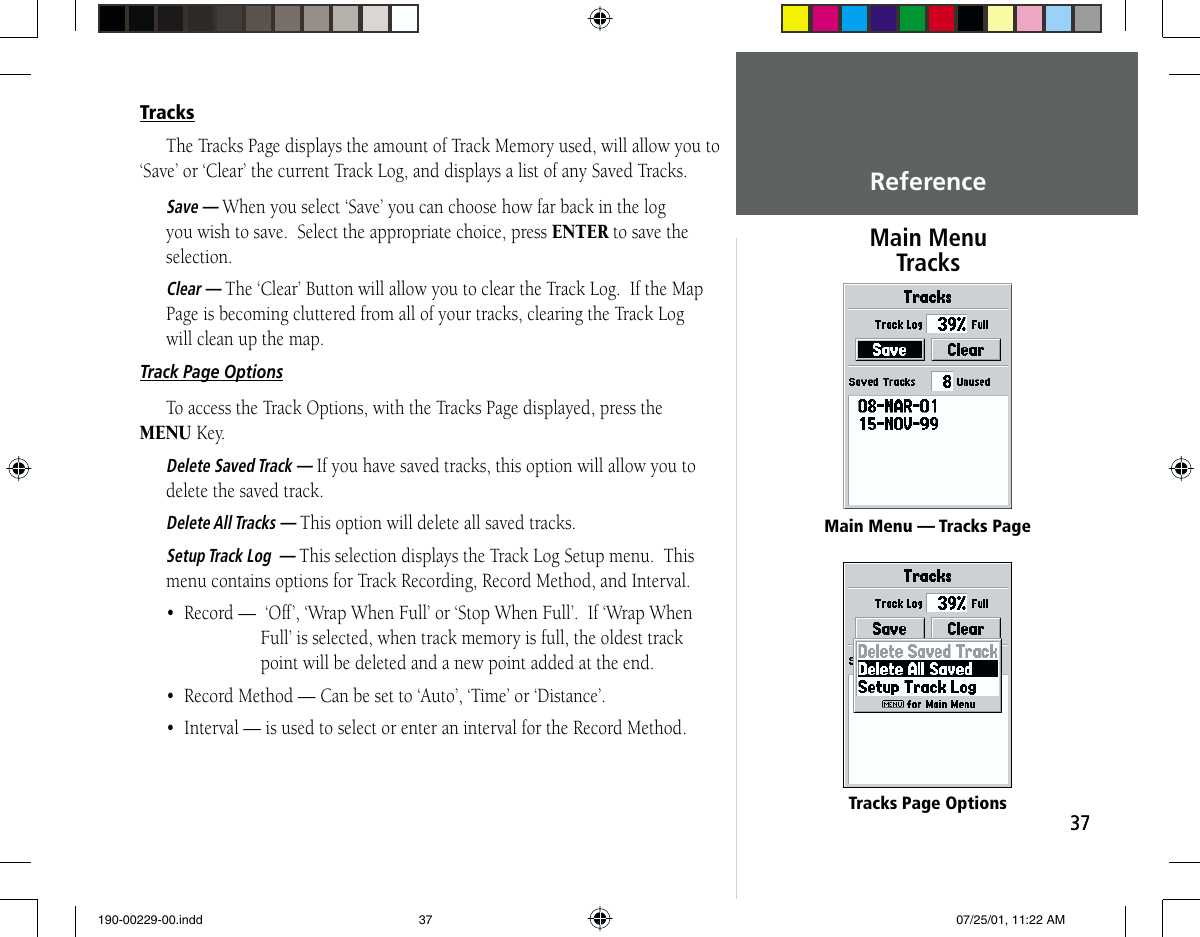 Garmin Gps 76 Users Manual