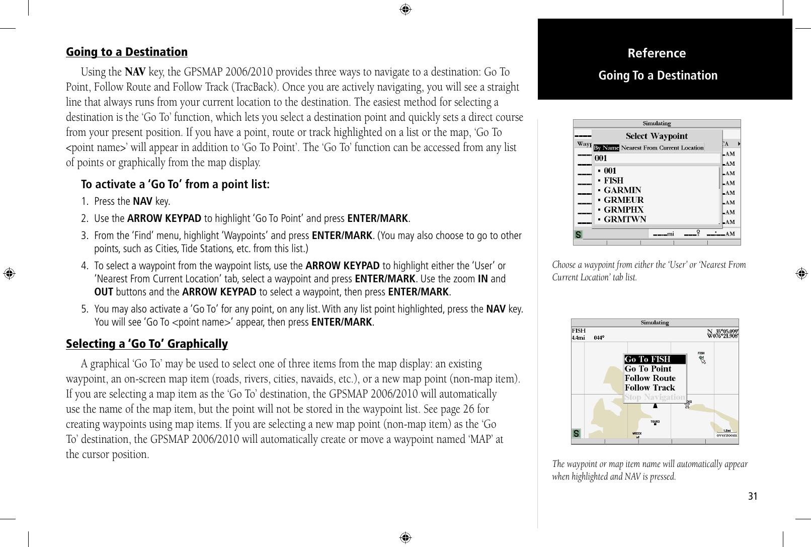 Garmin Gpsmap 2006 2010 Users Manual