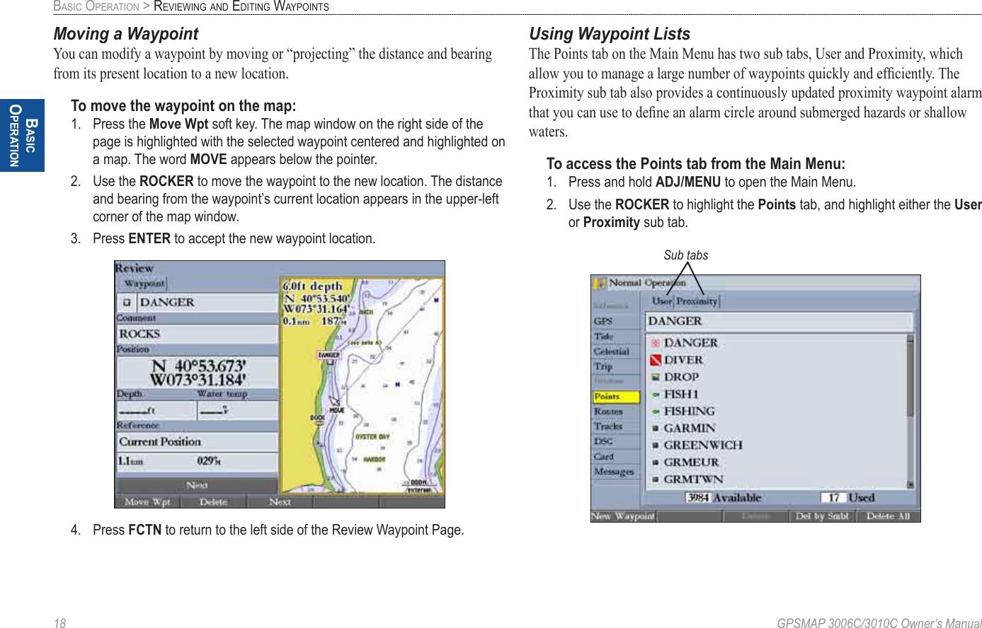 Garmin Gpsmap 3006C 3010C Users Manual