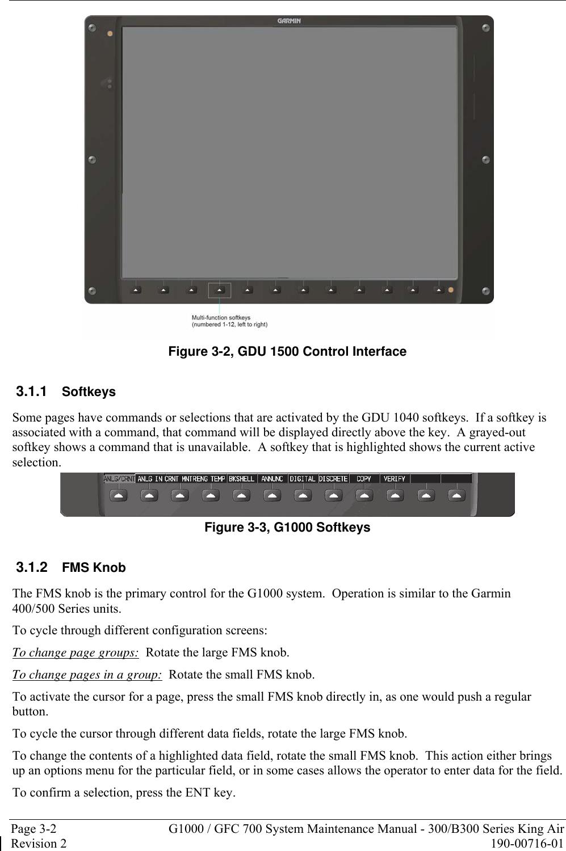 Garmin Mdl Rev 4 Sa01535Wi D System Maintenance Manual 190