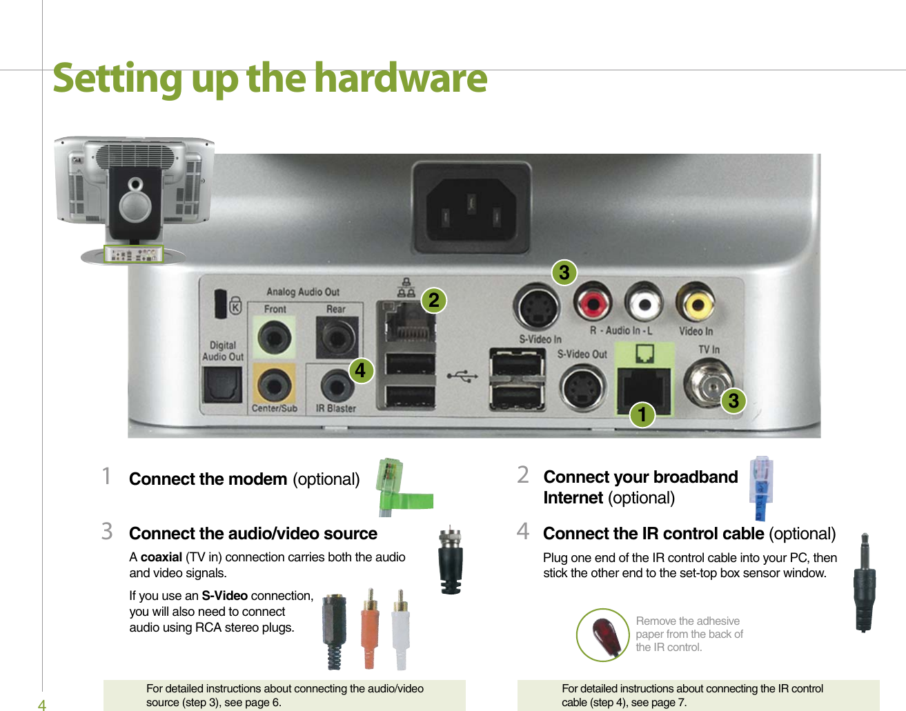 Gateway 610 Users Manual Media Center PC User's Guide