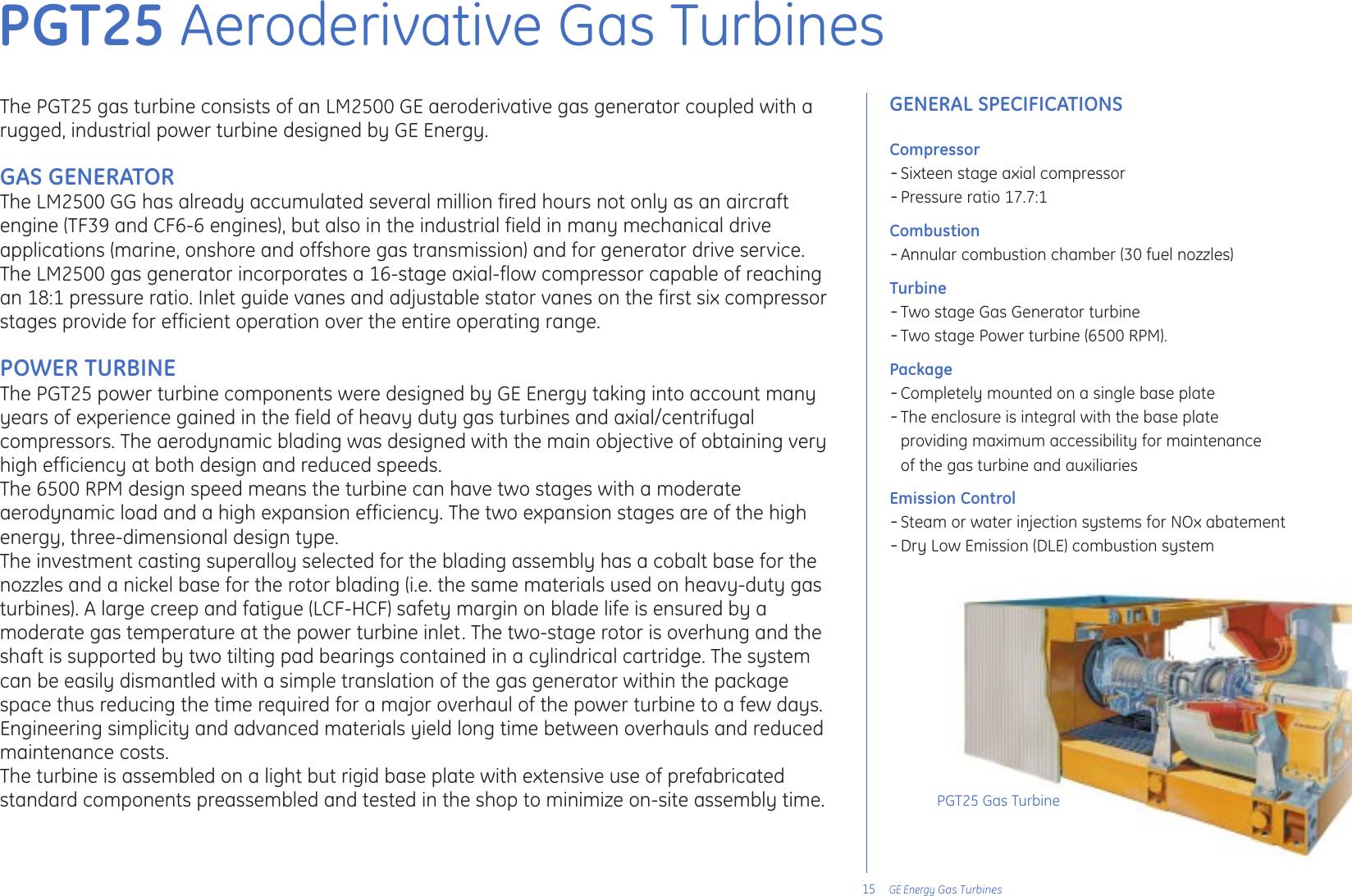 Ge Appliances Gas Turbine Users Manual Turbines2005