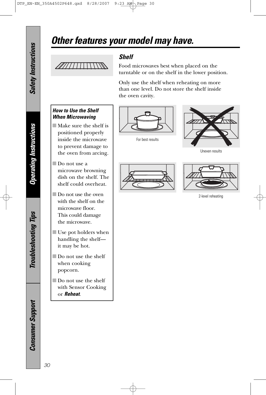 Ge Appliances Pvm1870 Users Manual on