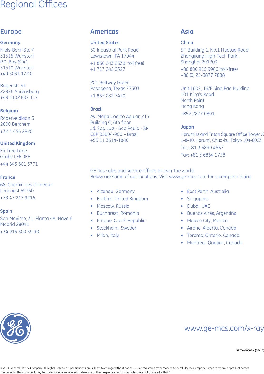 Ge Appliances Crxvision Brochure