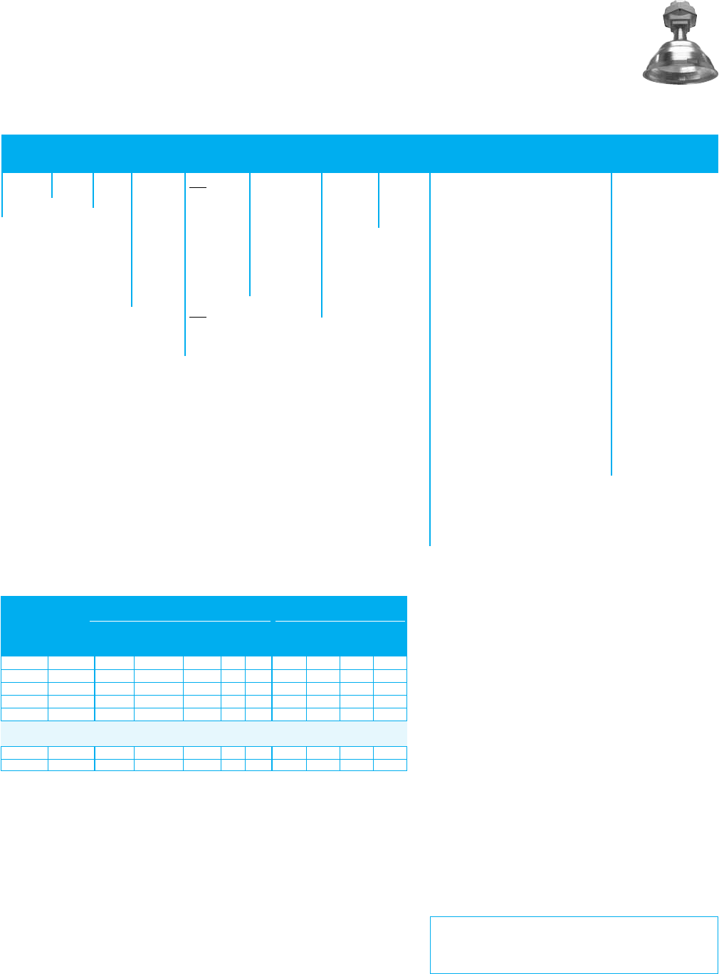 Ge Appliances Ug6 Data Sheet Indoor Lighting Fixtures High ... on