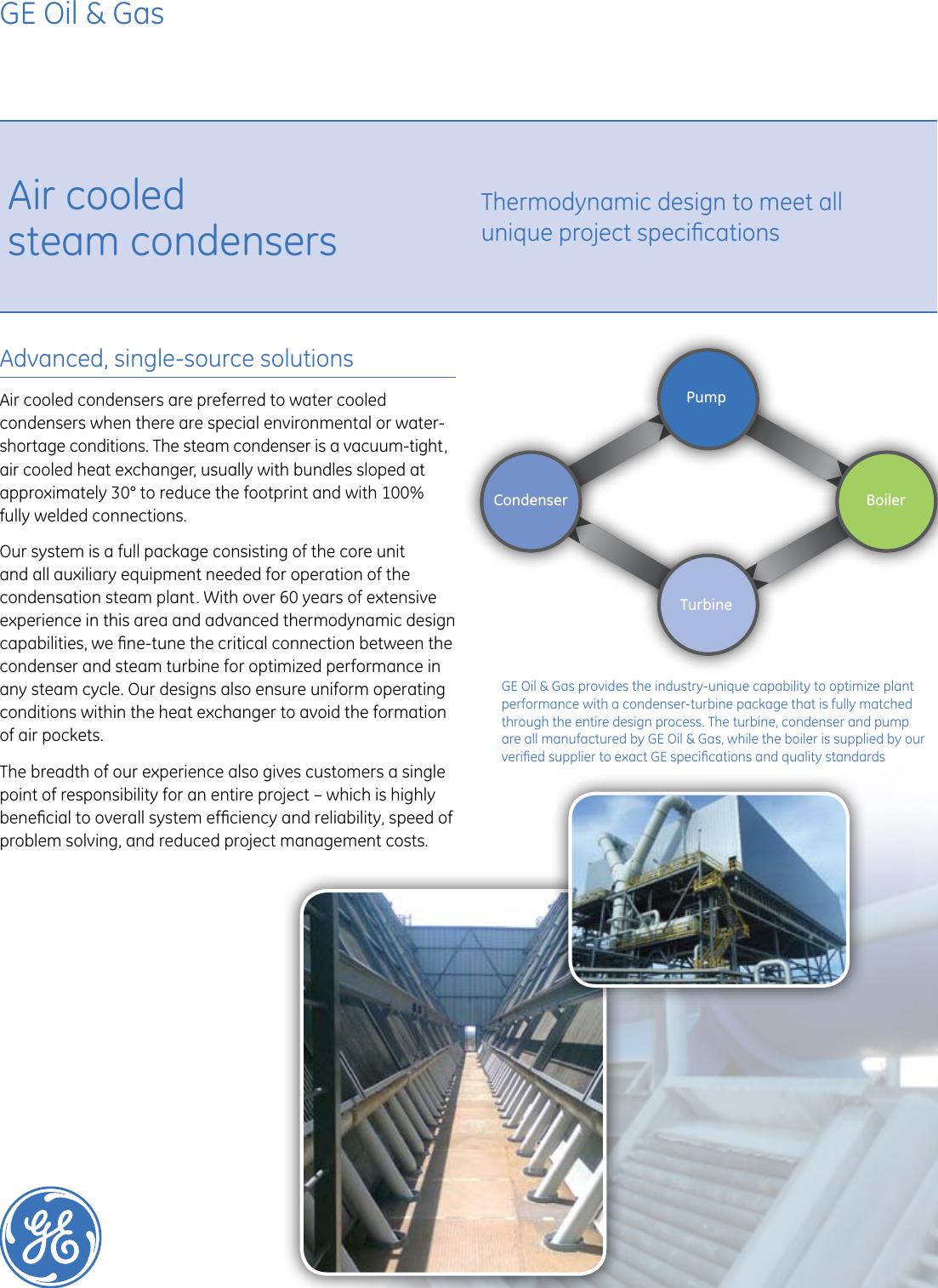 Ge Air Cooled Heat Exchangers Brochure
