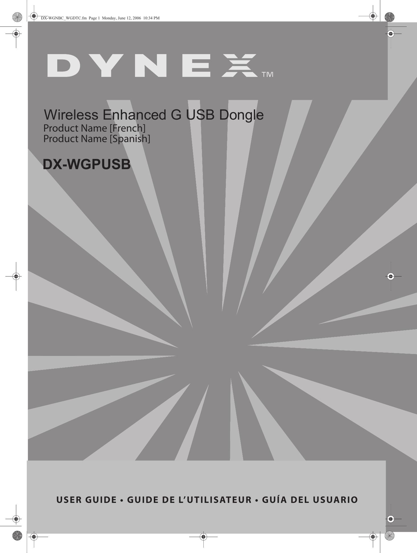 DYNEX WIRELESS ENHANCED G USB DONGLE TREIBER HERUNTERLADEN