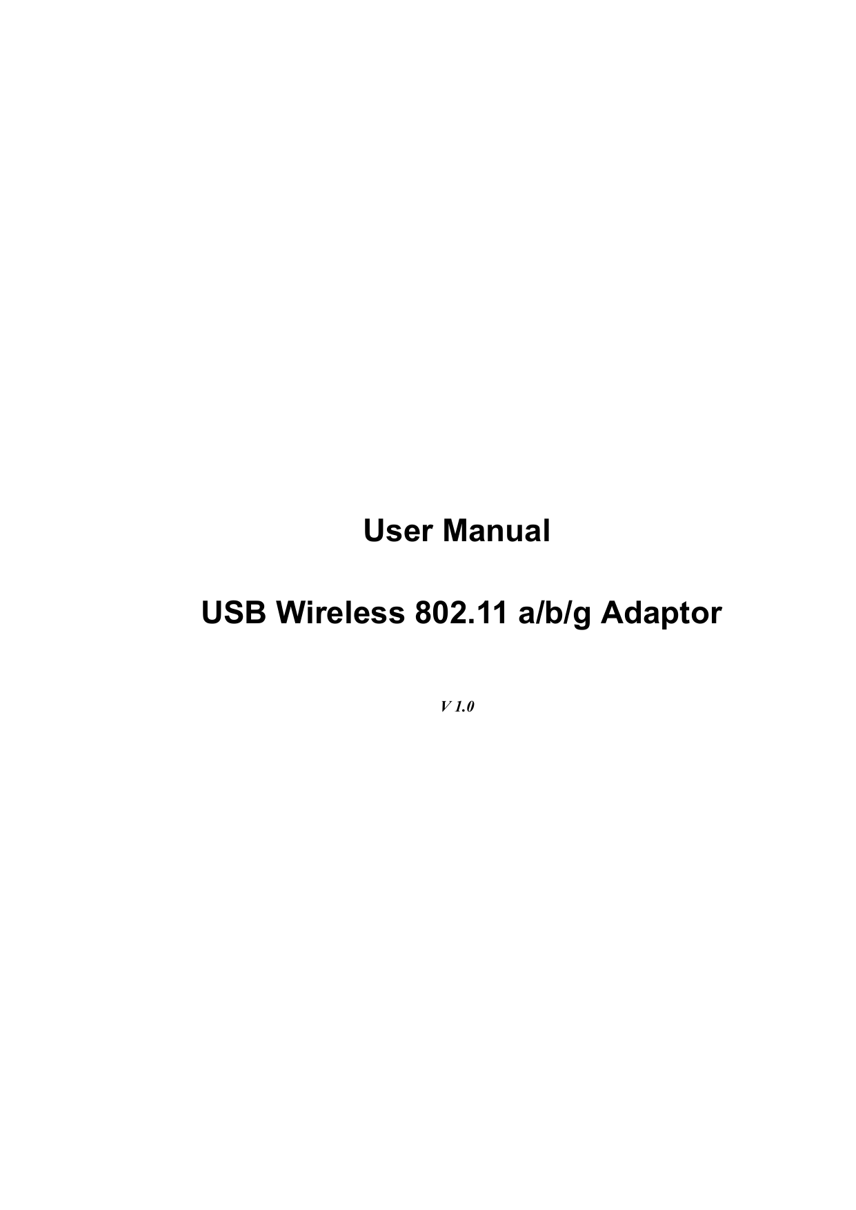 GemTek Technology U950711AG HP 80211abg Wireless LAN User Manual 180AG