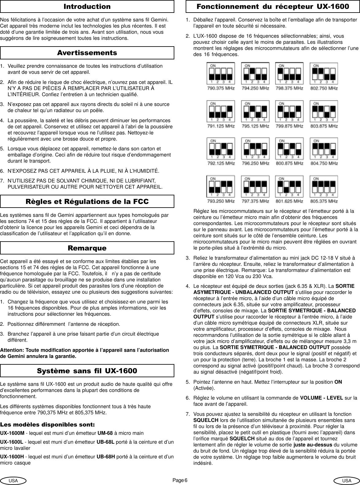 Radiateur Electrique Wikipedia concernant gemini industries uhf ux 1600 users manual