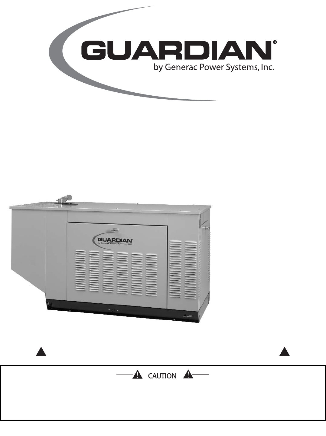 Generac Power Systems Liquid Cooled Prepackaged Standby