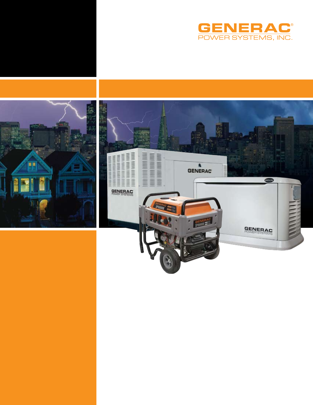 Generac Power Systems Transfer Switches And Accessories Users Manual