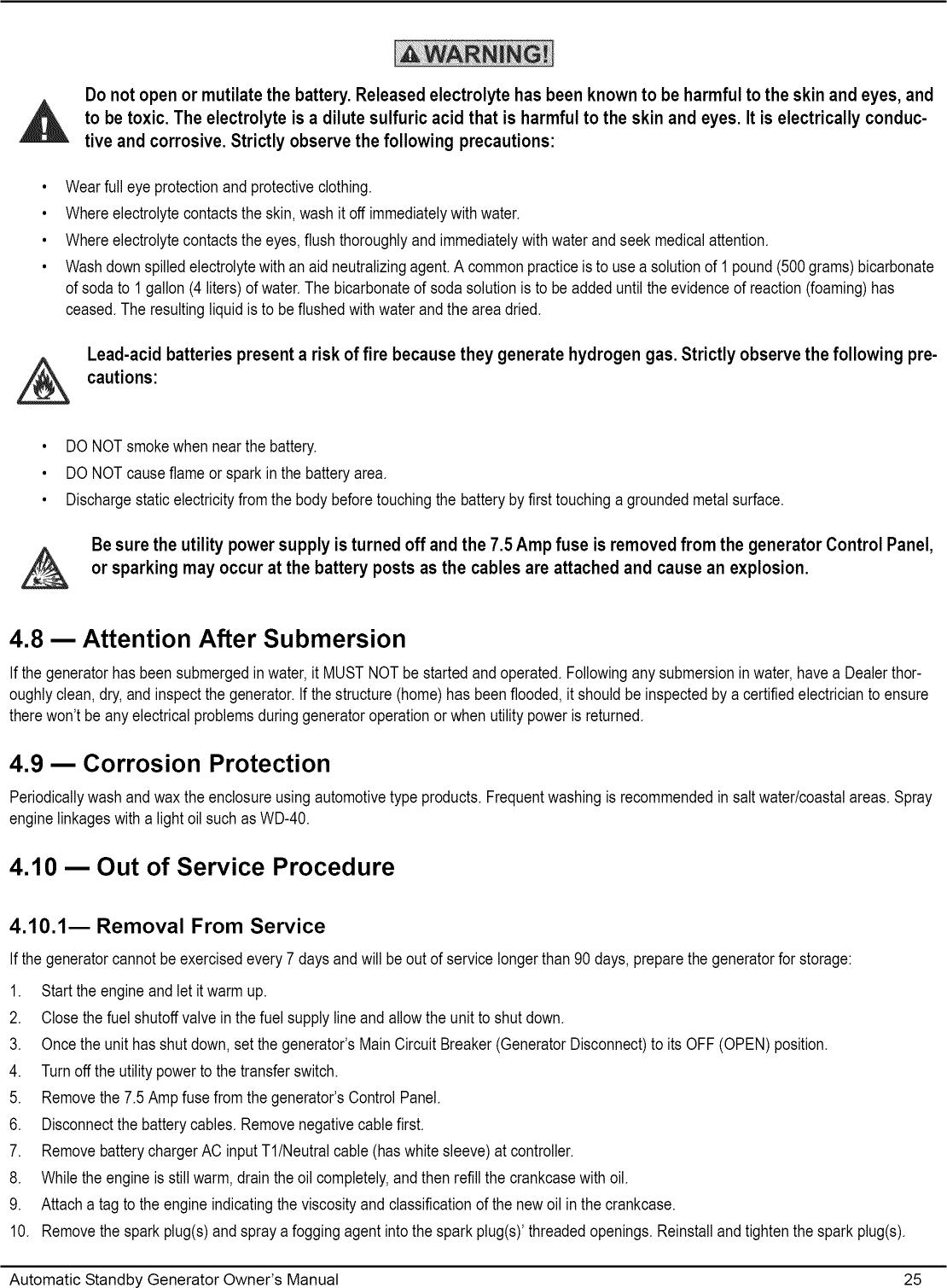 Generac 006237 0 User Manual GENERATOR Manuals And Guides