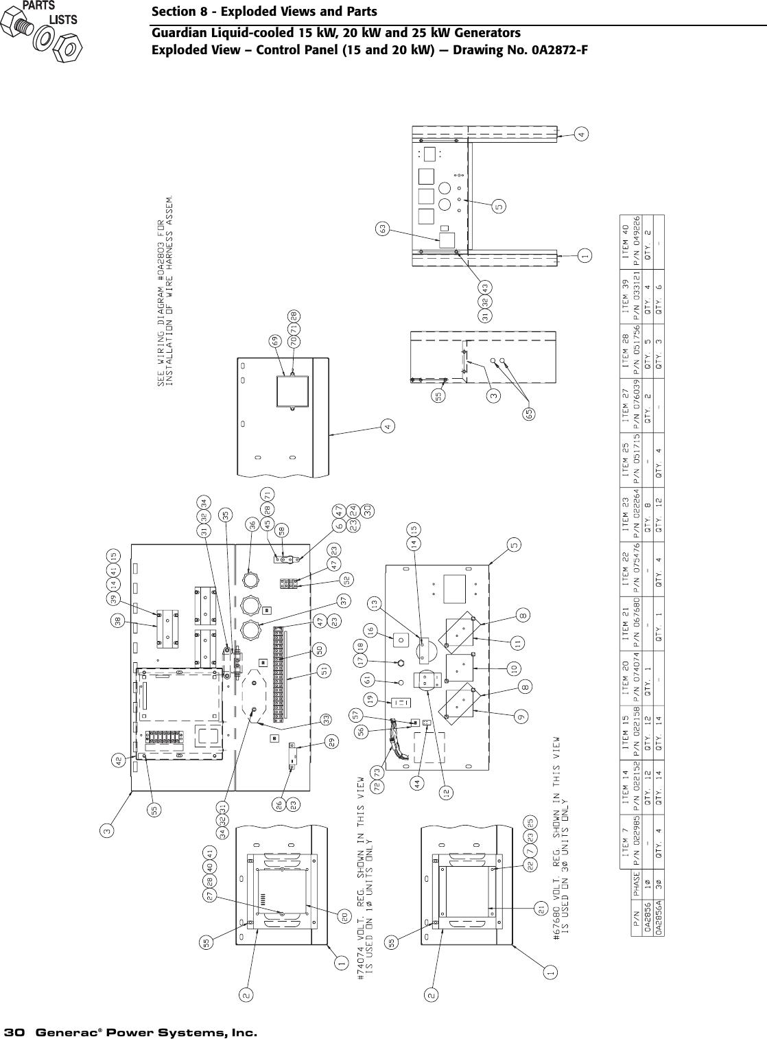Generac 004188 1 Owners Manual D6444Rev0 on